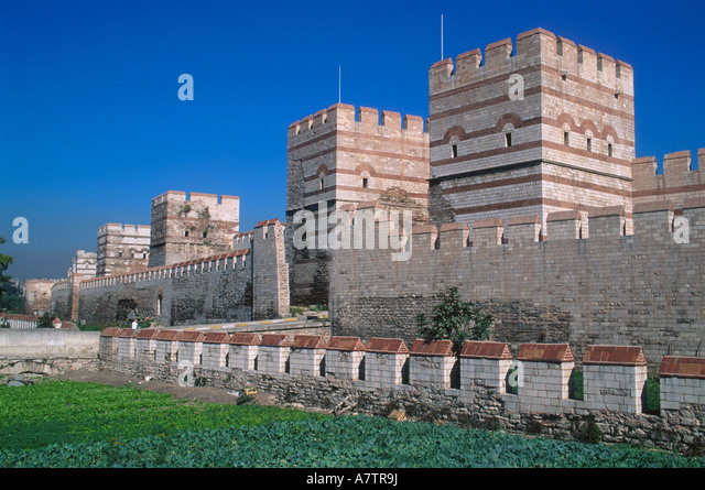 Constantinople Walls Stock Photos & Constantinople Walls ...