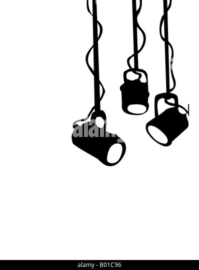 Stage Lights Cut Out Stock Images & Pictures - Alamy