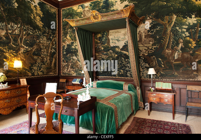 Stately Home Interiors. Interior rooms of the stately home Hopetoun house  is a historic mansion House Stately Home Stock Photos