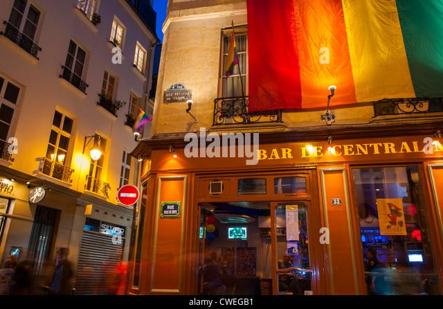 Marais paris 2010 stock photos marais paris 2010 stock images alamy - Bar le central ...