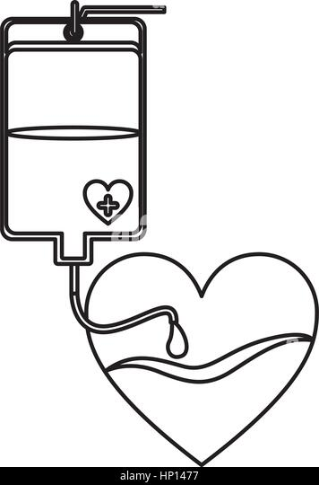 Blood Donation Coloring Pages