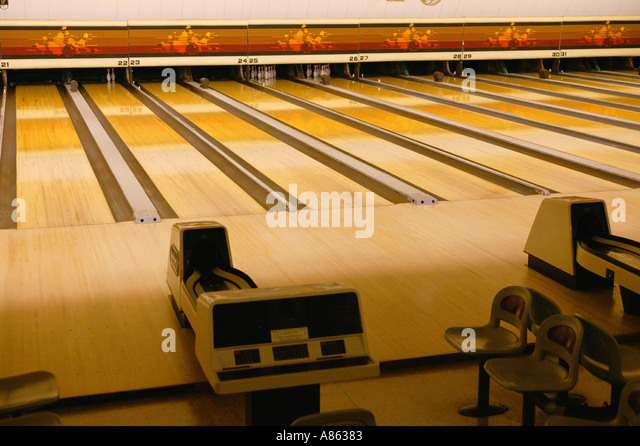 Bowling Alley Lanes Stock Photos & Bowling Alley Lanes Stock Images ...