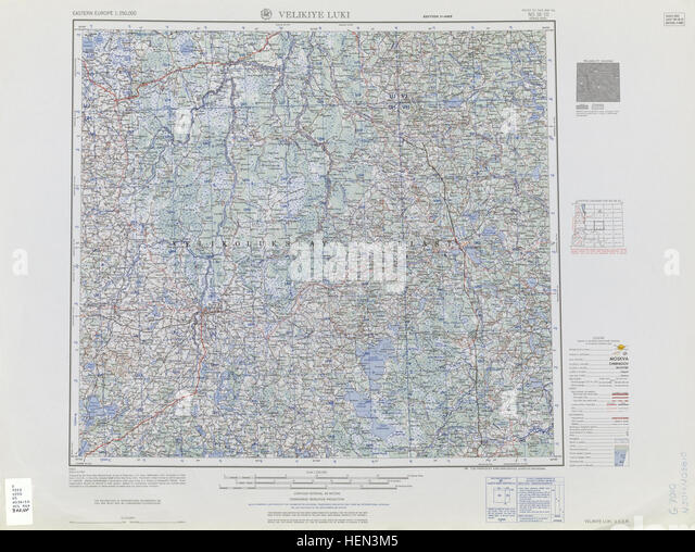Velikiye Stock Photos Velikiye Stock Images Alamy - Velikiye luki map