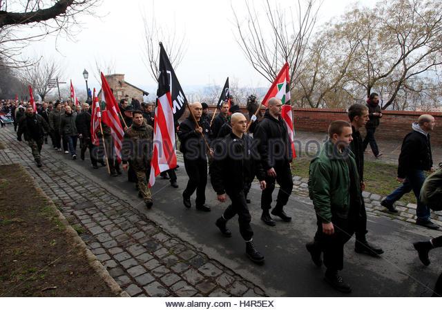 Rally Commemorates 1937 Memorial Day Massacre: Schutzstaffel Stock Photos & Schutzstaffel Stock Images