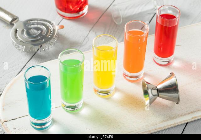 bar shots cocktail stock photos amp bar shots cocktail stock