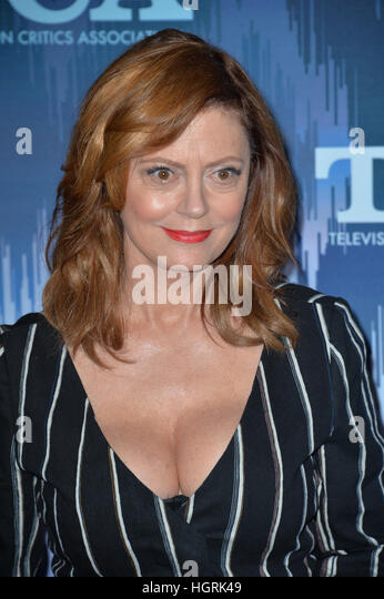 . 11th Jan, 2017. Susan Sarandon at the Fox Winter TCA 2017 All-Star ...