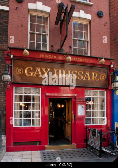 Gay restaurant uk