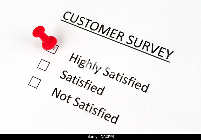Customer Satisfaction Survey Stock Photos & Customer Satisfaction