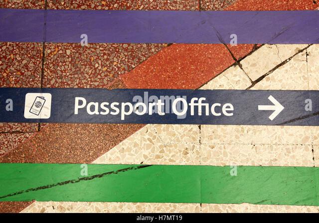 Passport Office Sign Stock Photos  Passport Office Sign Stock