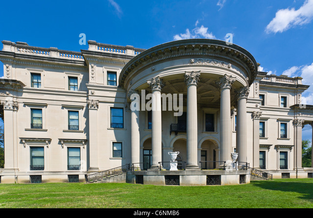 Vanderbilt mansion stock photos vanderbilt mansion stock for Old new york mansions