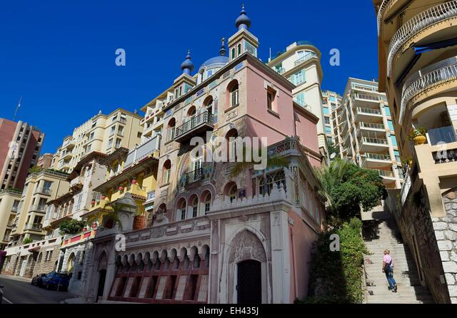 Moneghetti stock photos moneghetti stock images alamy for Boulevard du jardin exotique monaco