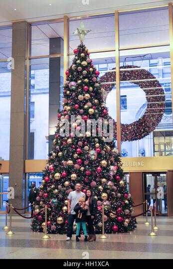 Lobby Christmas Tree Stock Photos & Lobby Christmas Tree Stock ...