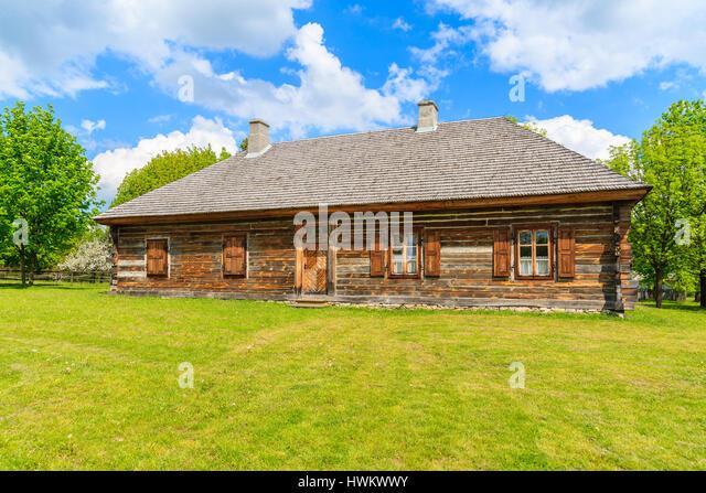 Old polish barn stock photos old polish barn stock images alamy - Traditional polish houses wood mastership ...