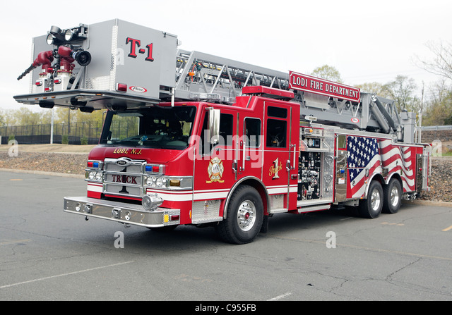Fire Tower Truck Stock Photos Fire Tower Truck Stock Images Alamy