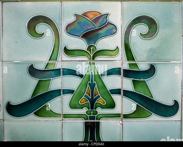 Art Deco Bathroom Tiles Uk art deco tiles stock photos & art deco tiles stock images - alamy