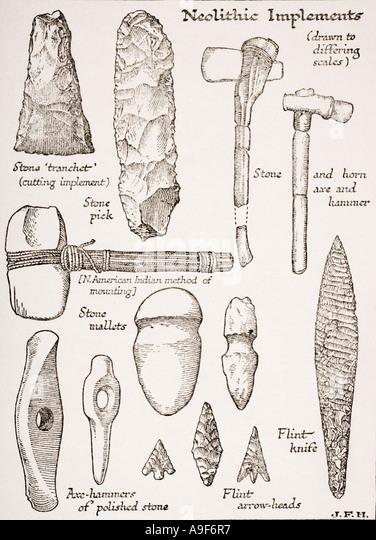 Prehistoric Tools Stock Photos & Prehistoric Tools Stock ...