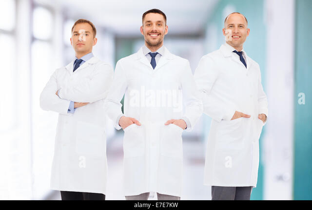 Men In White Coats Stock Photos & Men In White Coats Stock Images ...