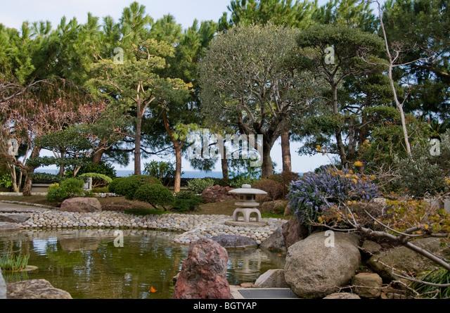 Jardin japonais stock photos jardin japonais stock for Jardin japonais monaco