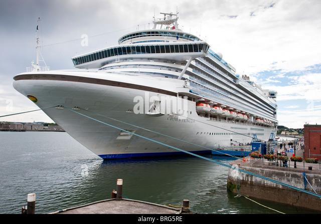Crown Princess Cruise Ship Stock Photos Crown Princess Cruise - Cruise ship ireland