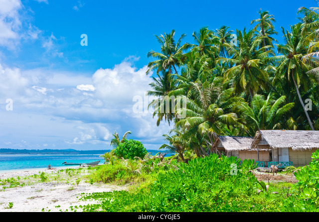 Tropical Island Beach Hut: Tropics Beach Huts Stock Photos & Tropics Beach Huts Stock