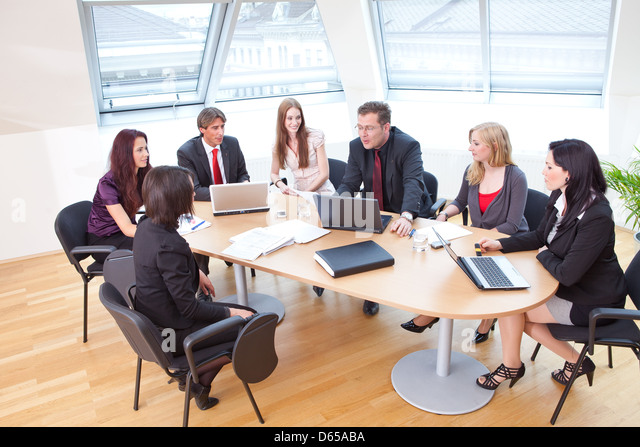 Business Meeting Round Table Stock Photos Amp Business