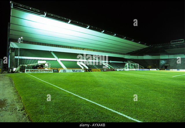 The New Grandstands At Plymouth Argyles Home Park Completed In May 2002