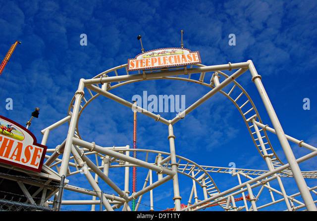 Steeplechase Roller Coaster Coney Island