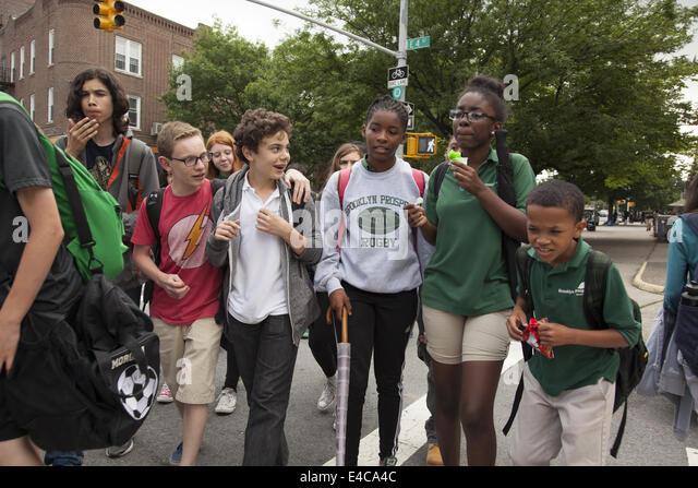 After school children kids going stock photos after school children kids going stock images for Brooklyn urban garden charter school