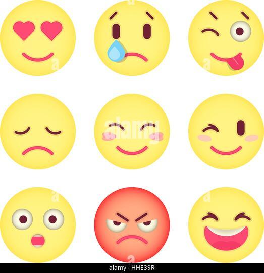 Emoji Stock Vector Images - Alamy