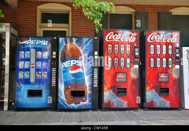 pepsi drink machine