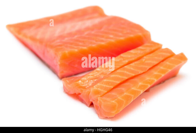 Salmonids stock photos salmonids stock images alamy for Red fish fillet
