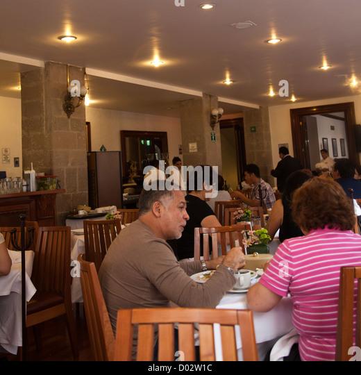 Centro historico mexico city food stock photos centro for Cafe el jardin centro historico