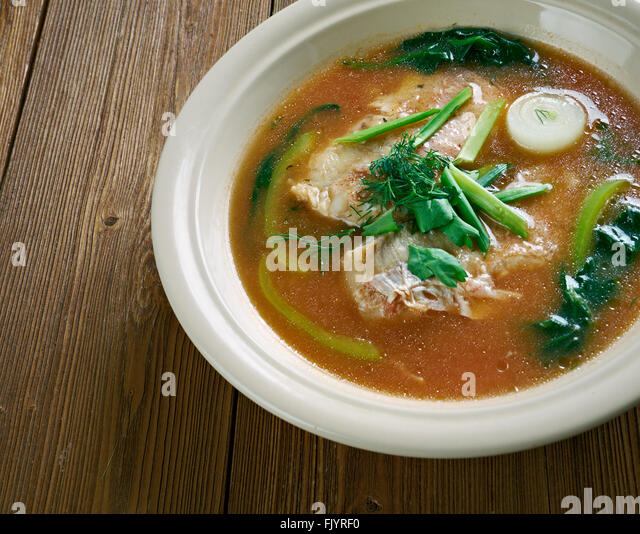 Napper stock photos napper stock images alamy for Spicy fish soup