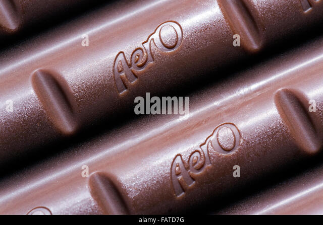Nestle Aero Chocolate Bar Cut Out Stock Images &amp- Pictures - Alamy