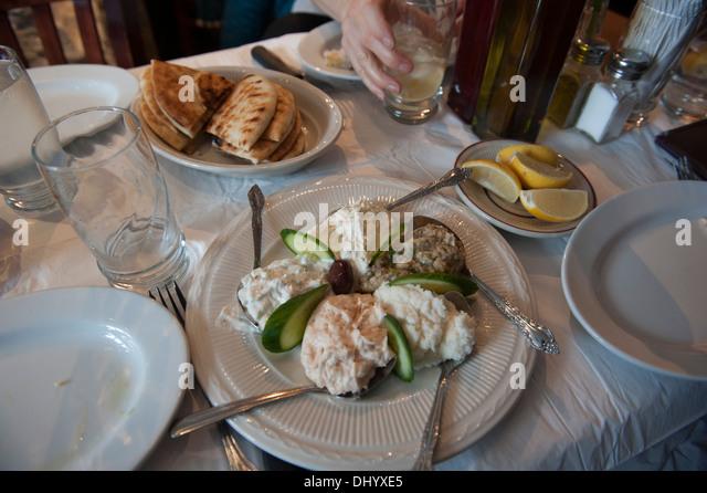Meze greek stock photos meze greek stock images alamy for Astoria greek cuisine