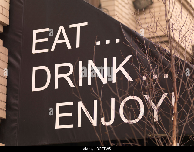 Message on restaurant canopy Toronto Ontario Canada - Stock Image & Canopy Sign Stock Photos u0026 Canopy Sign Stock Images - Alamy