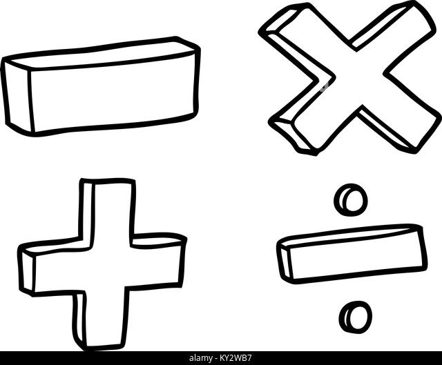math symbols black and white stock photos amp images alamy
