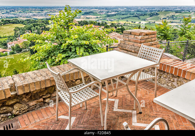 Sloping roofs stock photos sloping roofs stock images for Terrace 45 restaurant