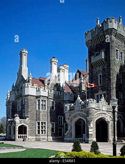Casa loma stock photos casa loma stock images alamy for Casa loma mansion toronto