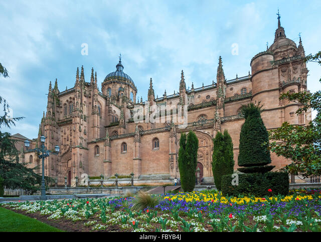 Catedral Nueva Stock Photos & Catedral Nueva Stock Images - Alamy
