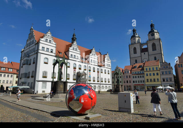 stadtkirche wittenberg stock photos stadtkirche wittenberg stock images alamy. Black Bedroom Furniture Sets. Home Design Ideas