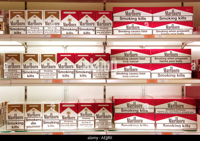 Marlboro Oregon cigarette shop