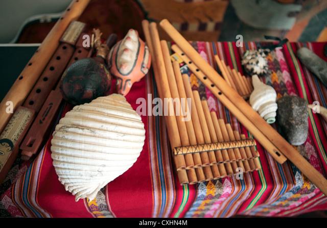 Peruvian Musical Instrument Stock Photos & Peruvian Musical ...
