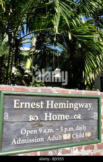 Ernest Hemingway Home Stock Photos Ernest Hemingway Home