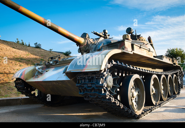 Hdr army stock photos hdr army stock images alamy russian battle tank with blue cloudy sky in background altavistaventures Gallery