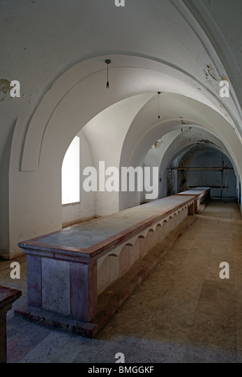 Ancient Dining Room Stock Photos