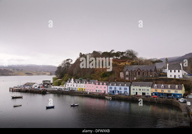 Portree Harbour Stock Photos Portree Harbour Stock