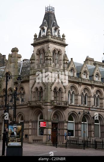 Victorian Architecture Of Bradford City Centre Bradford West