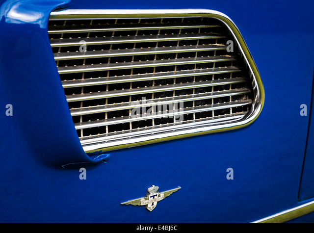 chrome side vent on a 1958 maserati 3500 gt coupe 2014 goodwood festival of speed