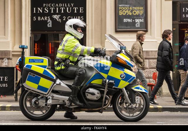 Met Police Motorcycle Training